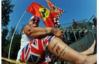 Jenson Button Fan - Formel 1 - GP Italien - 08. September 2012