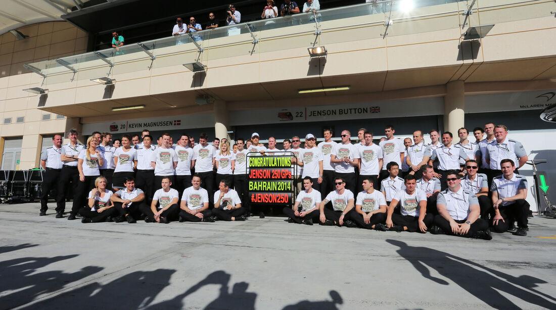 Jenson Button - Formel 1 - GP Bahrain 2014