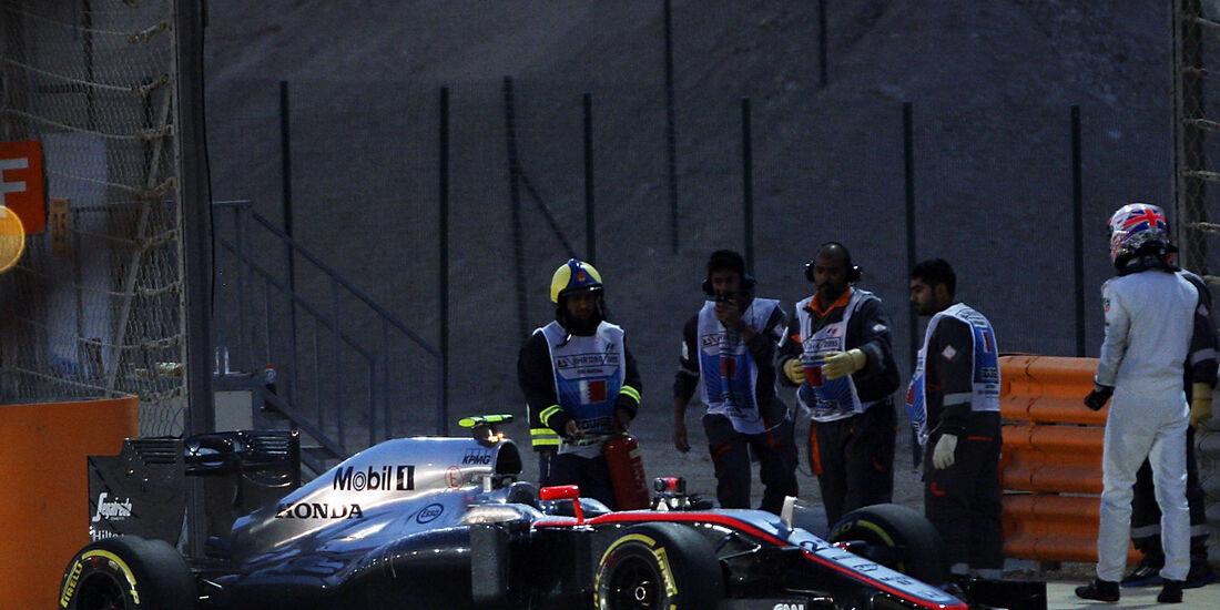 Jenson Button - GP Bahrain 2015