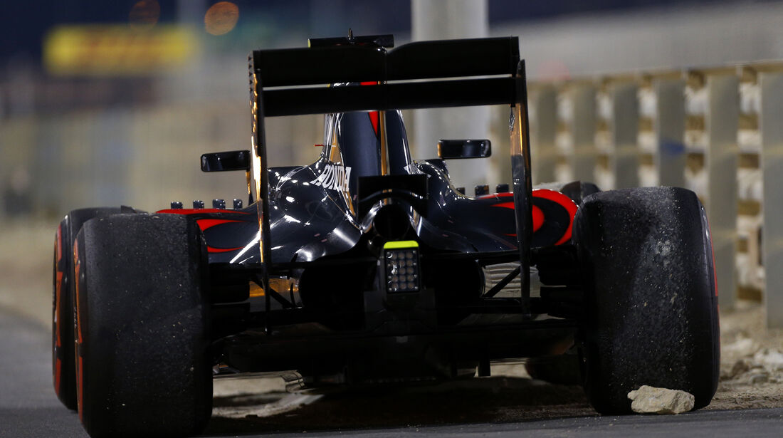 Jenson Button - GP Bahrain 2016