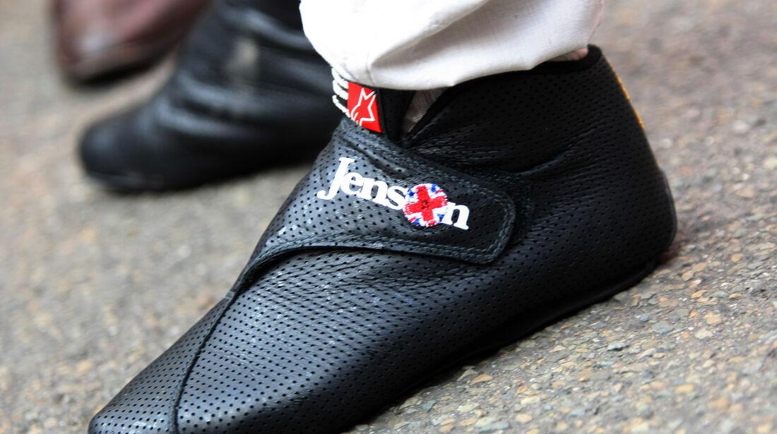 Jenson Button - GP Belgien 2012