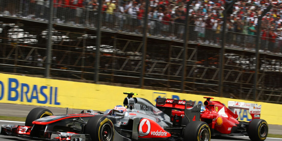Jenson Button GP Brasilien 2011