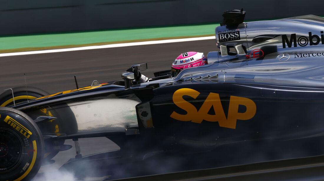 Jenson Button - GP Brasilien 2014