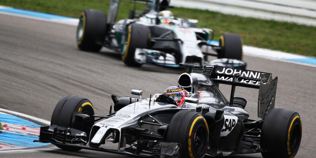 Jenson Button - GP Deutschland 2014