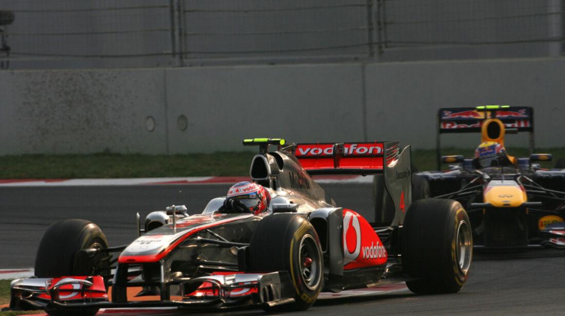 Jenson Button GP Indien 2011