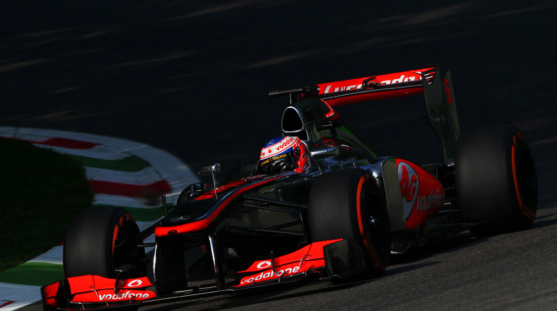 Jenson Button GP Italien 2013