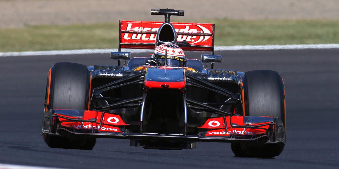Jenson Button - GP Japan 2013