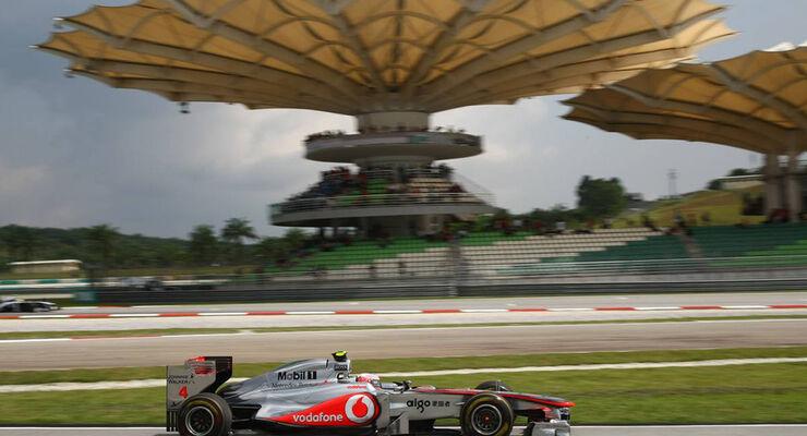 Jenson Button - GP Malaysia 2011