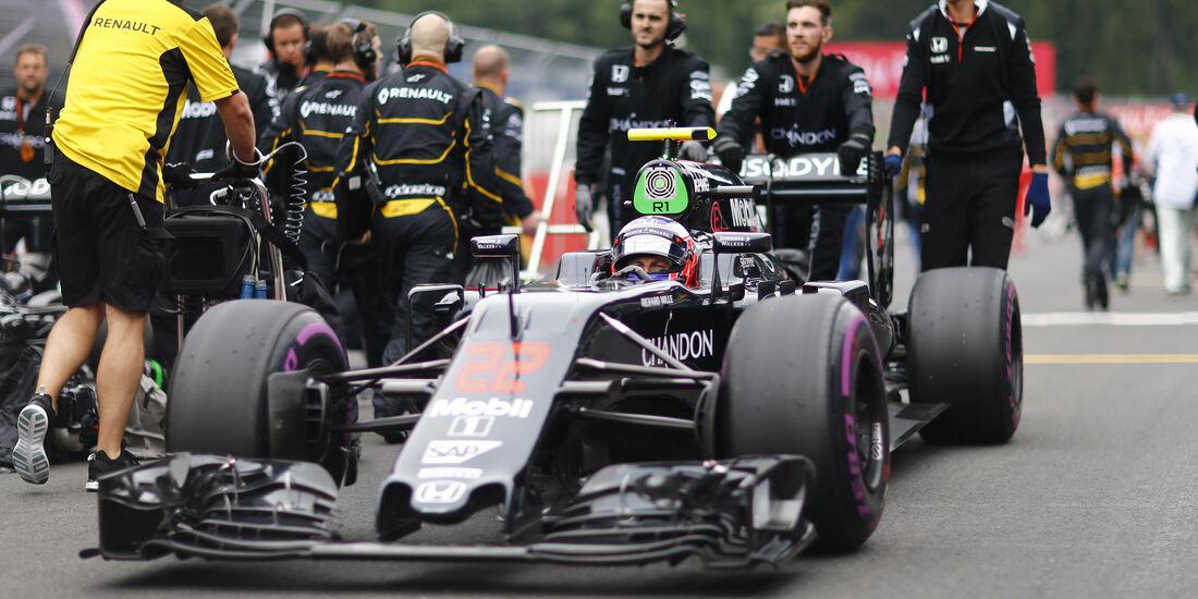 Jenson Button - GP Österreich 2016