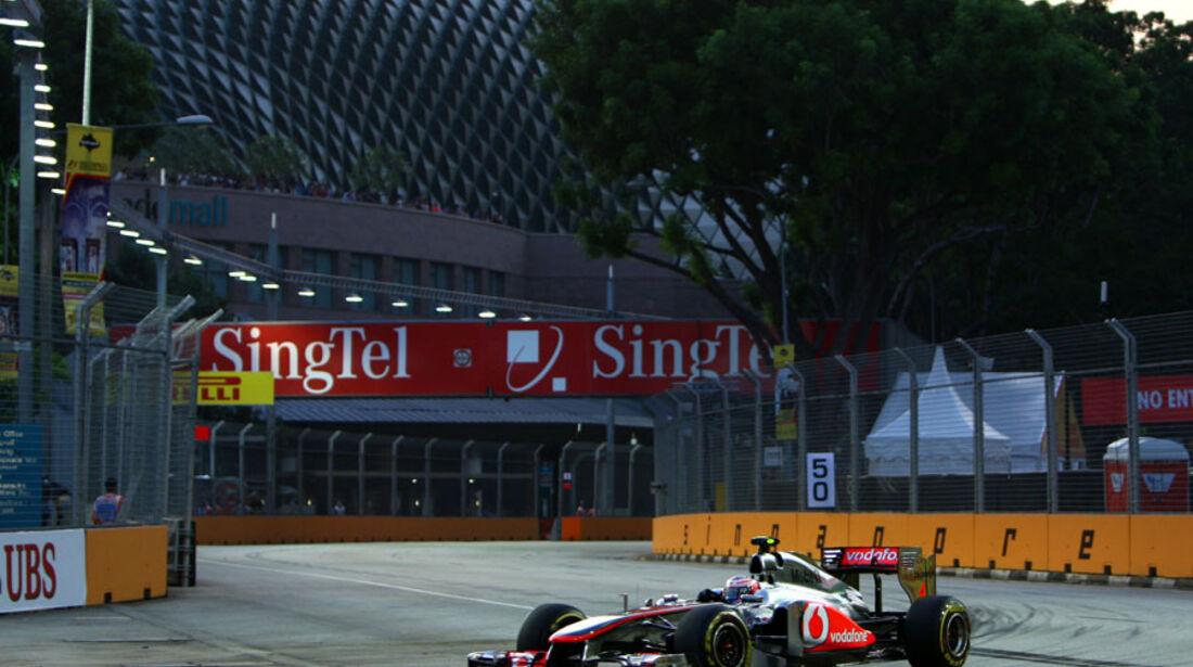 Jenson Button - GP Singapur - 23. September 2011