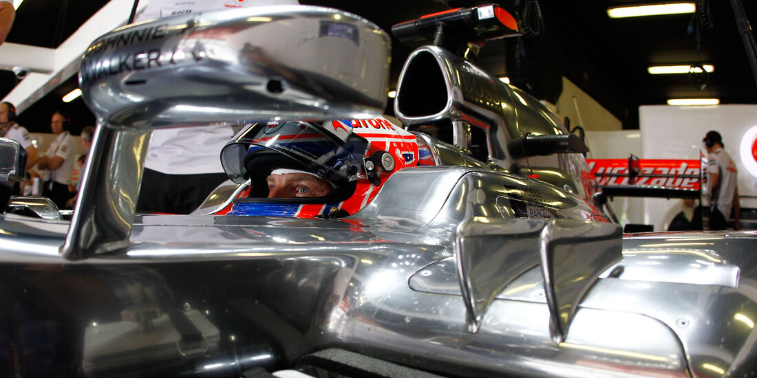 Jenson Button GP Spanien 2012