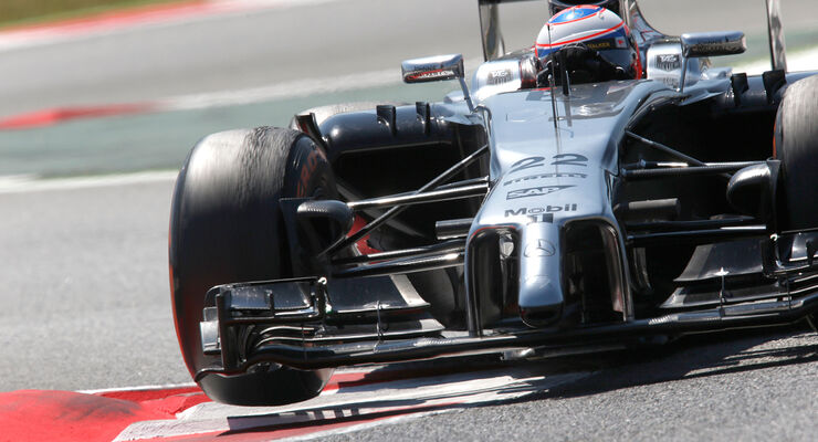 Jenson Button - GP Spanien 2014