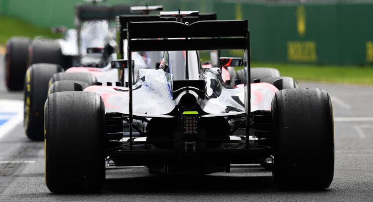 Jenson Button - McLaren - Formel 1 - GP Australien - Melbourne - 19. März 2016