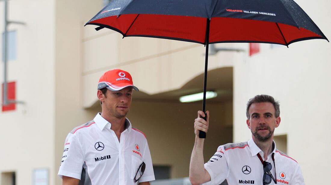 Jenson Button - McLaren - Formel 1 - GP Bahrain - 18. April 2013