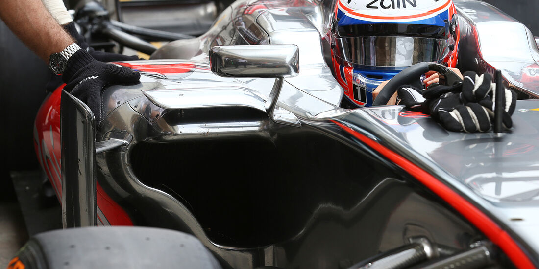 Jenson Button - McLaren - Formel 1 - GP Bahrain - 19. April 2013