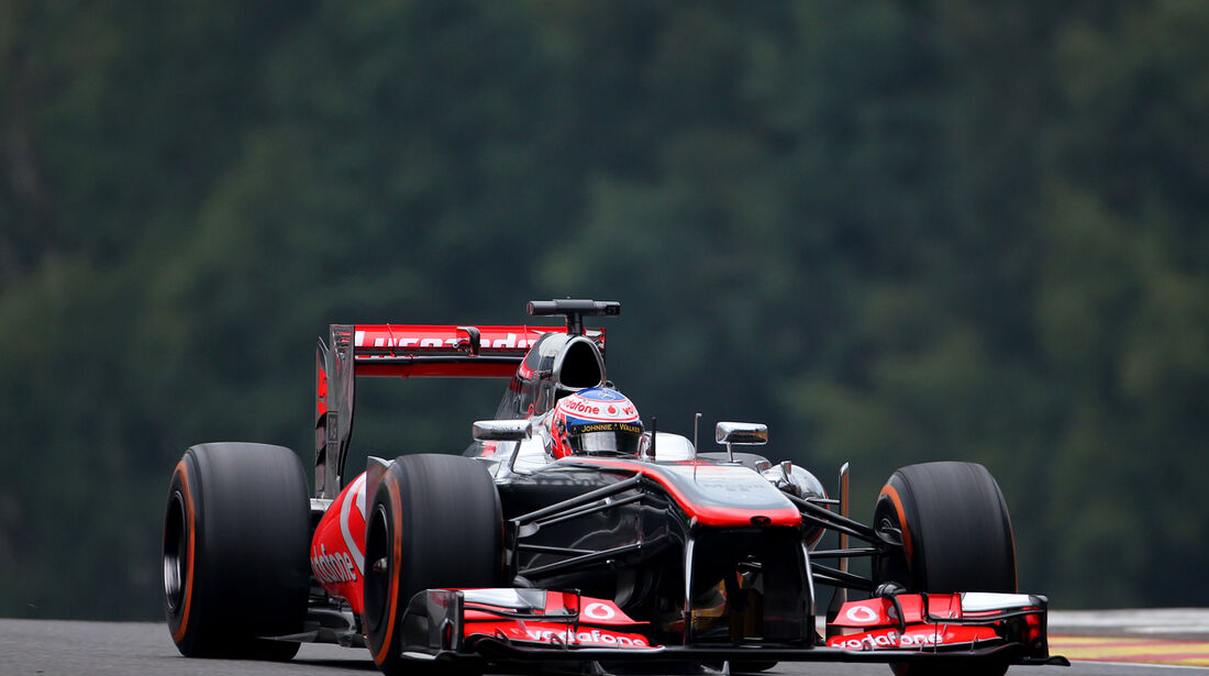 Jenson Button - McLaren - Formel 1 - GP Belgien - Spa Francorchamps - 23. August 2013