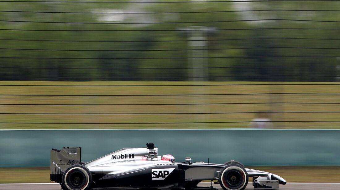 Jenson Button - McLaren - Formel 1 - GP China - Shanghai - 18. April 2014