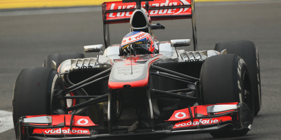 Jenson Button - McLaren - Formel 1 - GP Indien - 25. Oktober 2013