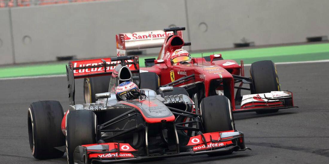 Jenson Button - McLaren - Formel 1 - GP Indien - 27. Oktober 2013