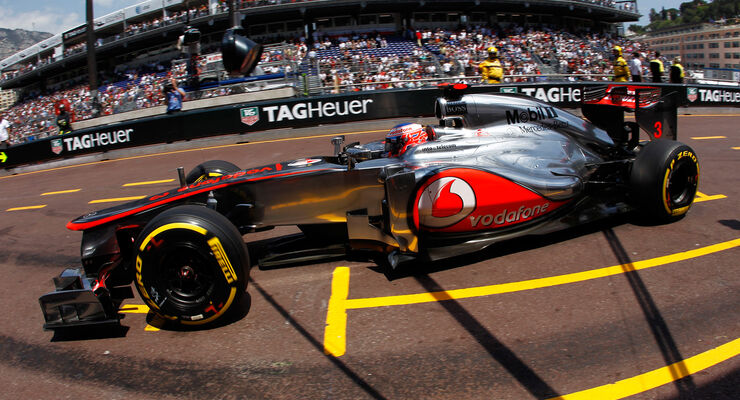 Jenson Button - McLaren - Formel 1 - GP Monaco - 26. Mai 2012