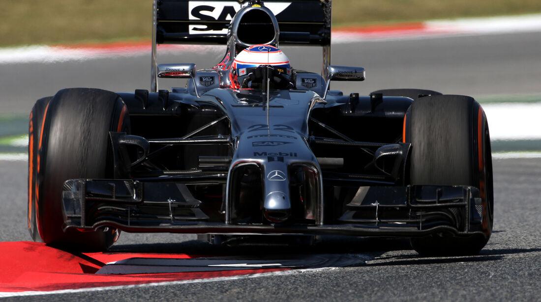 Jenson Button - McLaren - Formel 1 - GP Spanien - Barcelona - 9. Mai 2014
