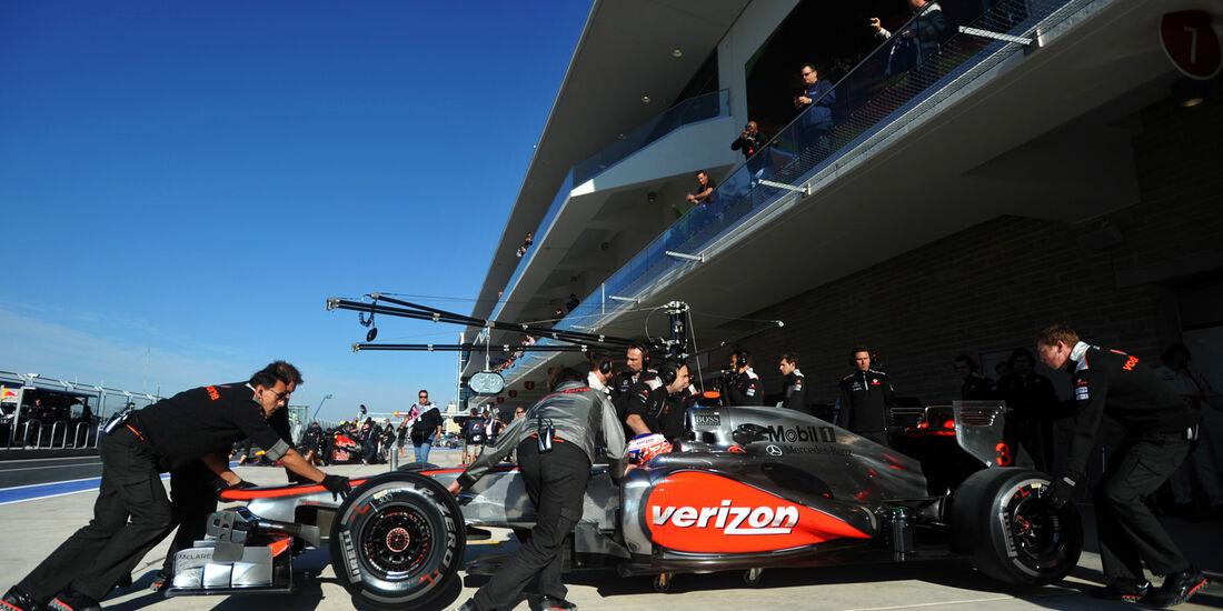 Jenson Button - McLaren - Formel 1 - GP USA - Austin - 16. November 2012