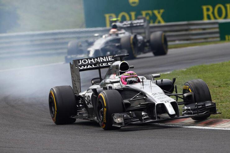 Jenson Button - McLaren - Formel 1 - GP Ungarn - 27. Juli 2014