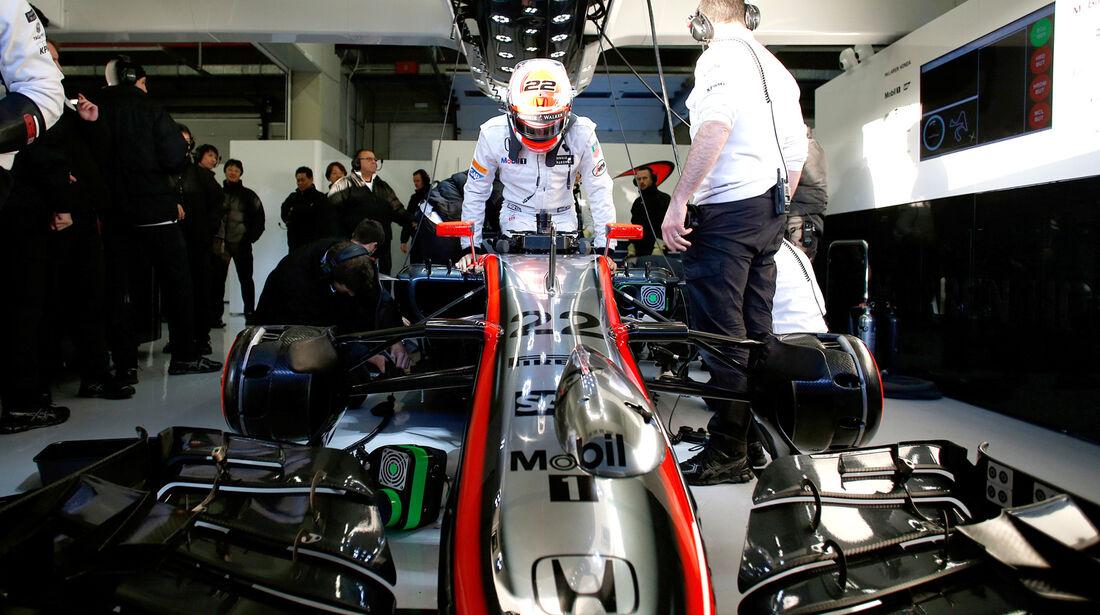 Jenson Button - McLaren - Formel 1 - Jerez - 2015