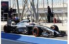 Jenson Button - McLaren - Formel 1 - Test - Bahrain - 22. Februar 2014