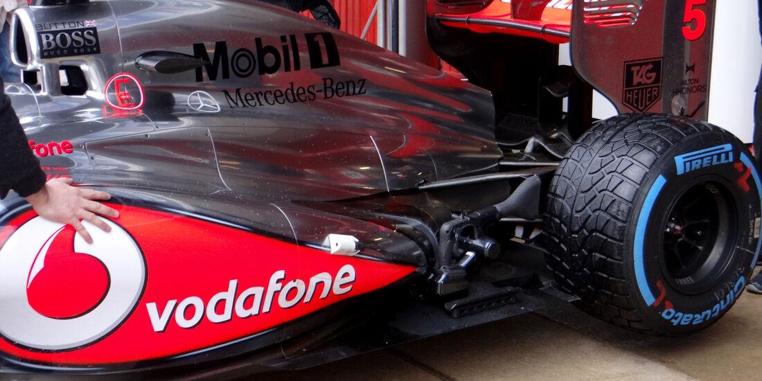 Jenson Button - McLaren - Formel 1 - Test - Barcelona - 1. März 2013