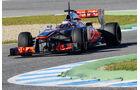 Jenson Button, McLaren, Formel 1-Test, Jerez, 7.2.2013