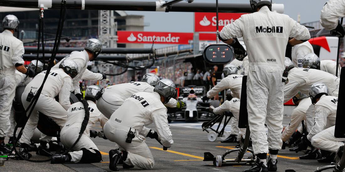 Jenson Button - McLaren - GP Deutschland 2014