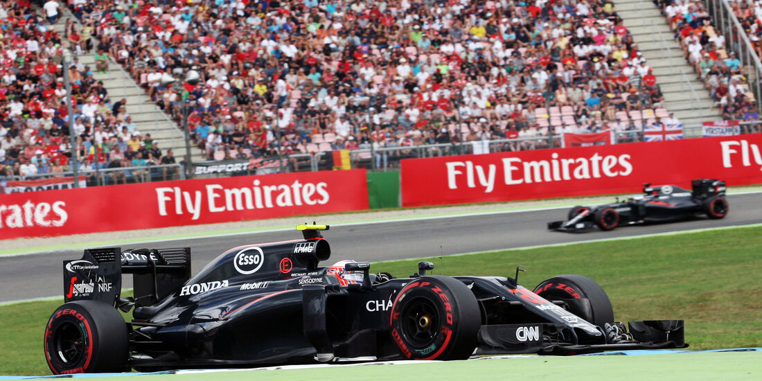 Jenson Button - McLaren - GP Deutschland 2016 - Hockenheim