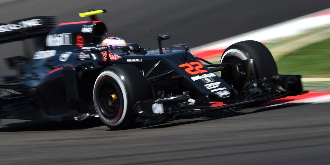 Jenson Button - McLaren-Honda -  Formel 1 - GP Malaysia - Freitag - 30.9.2016