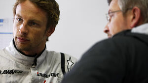 Jenson Button & Ross Brawn