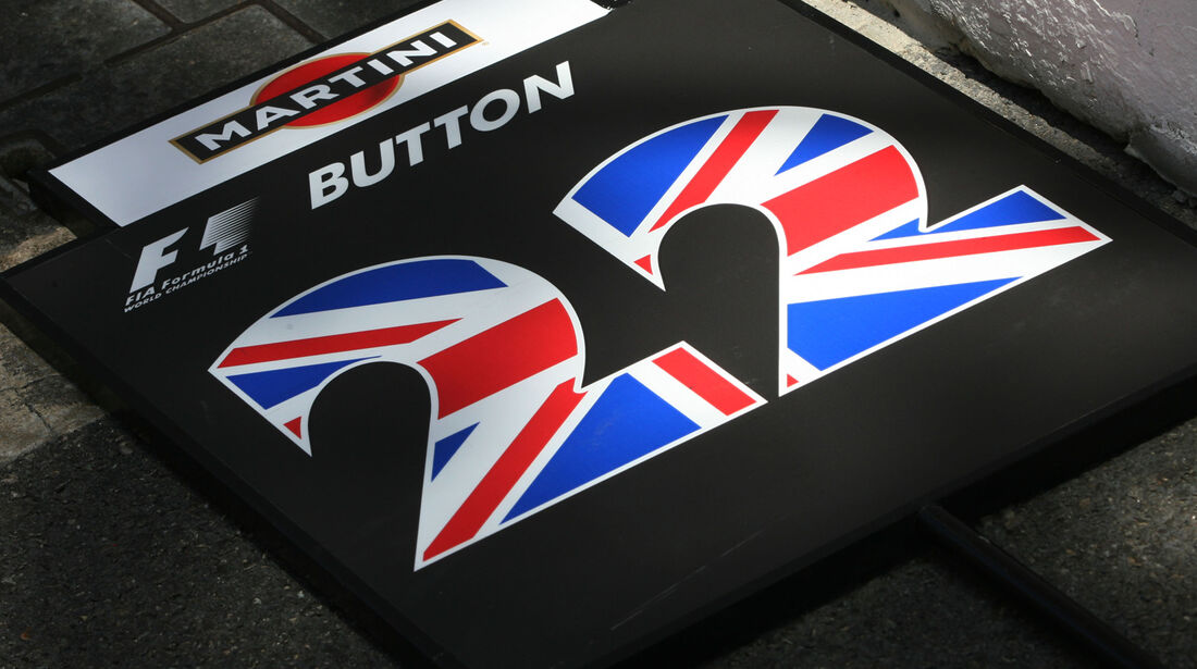 Jenson Button - Startnummer 2009