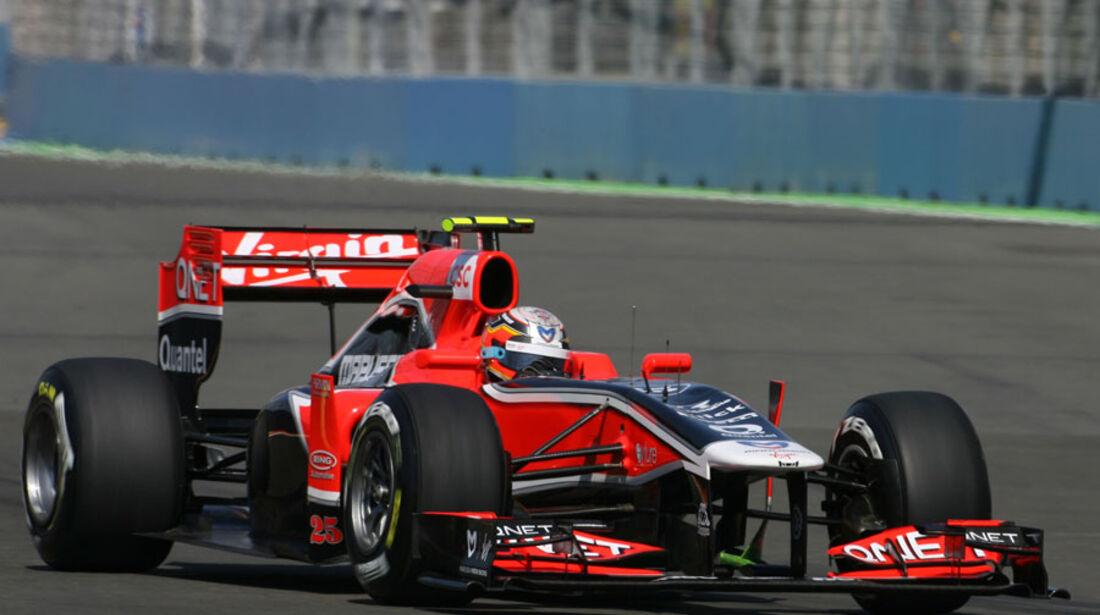 Jerome D'Ambrosio - GP Europa - Qualifying - 25. Juni 2011