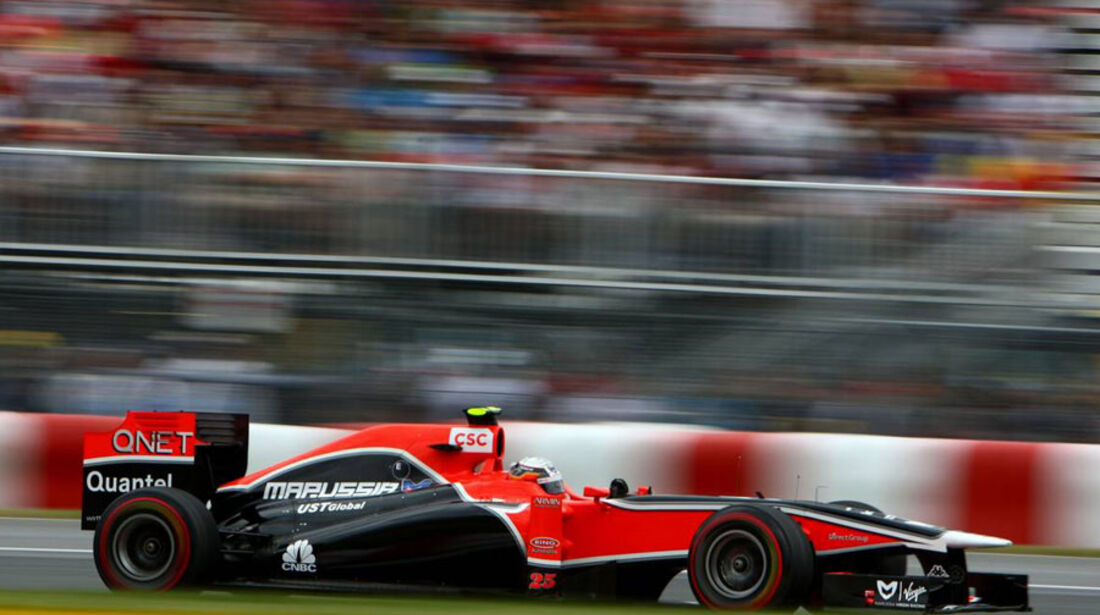 Jerome D'Ambrosio GP Kanada 2011