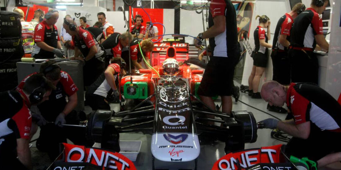 Jerome D'Ambrosio - GP Singapur - 23. September 2011