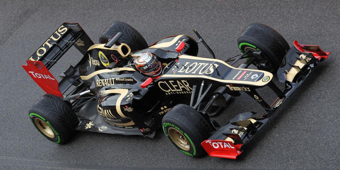 Jerome D'Ambrosio - Lotus - Formel 1-Test - Mugello - 1. Mai 2012