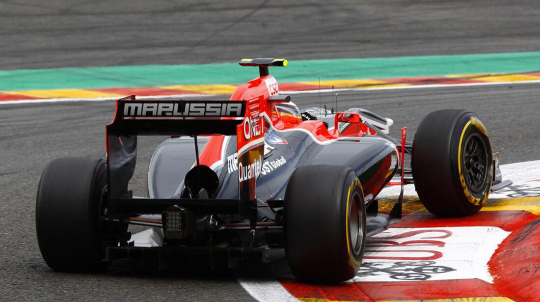 Jerome D'Ambrosio Virgin GP Belgien 2011
