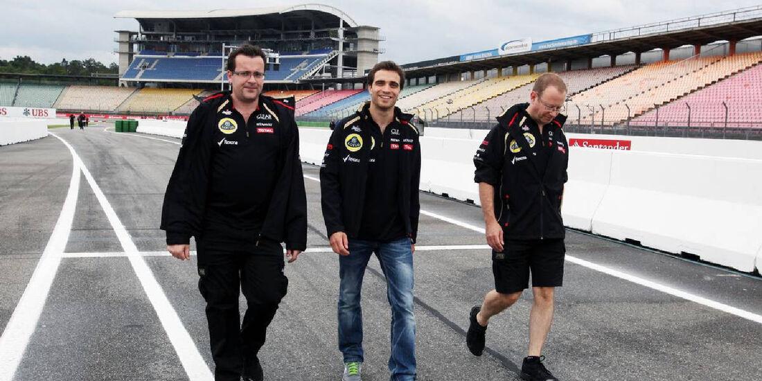 Jerome d'Ambrosio -  Formel 1 - GP Deutschland - 19. Juli 2012