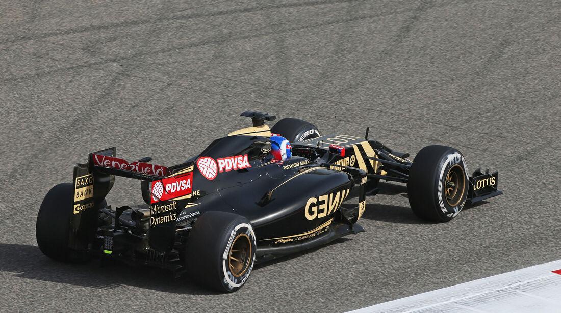 Jolyon Palmer - Lotus - Formel 1 - GP Bahrain - 17. April 2015