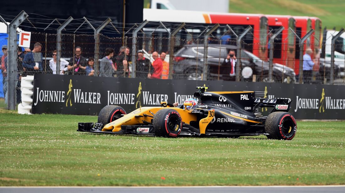 Jolyon Palmer - Renault - Formel 1 - GP England - 16. Juli 2017
