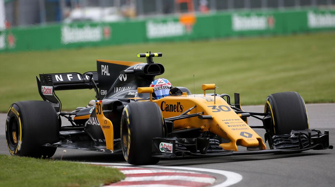 Jolyon Palmer - Renault - Formel 1 - GP Kanada - Montreal - 9. Juni 2017