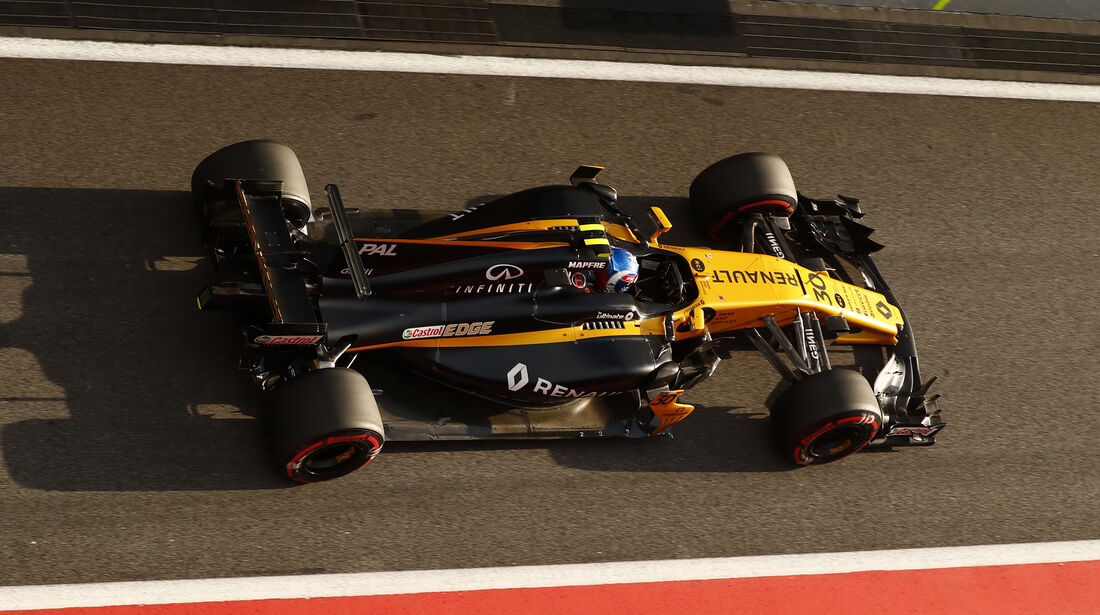 Jolyon Palmer - Renault - Formel 1 - GP Malaysia - Sepang - 30. September 2017