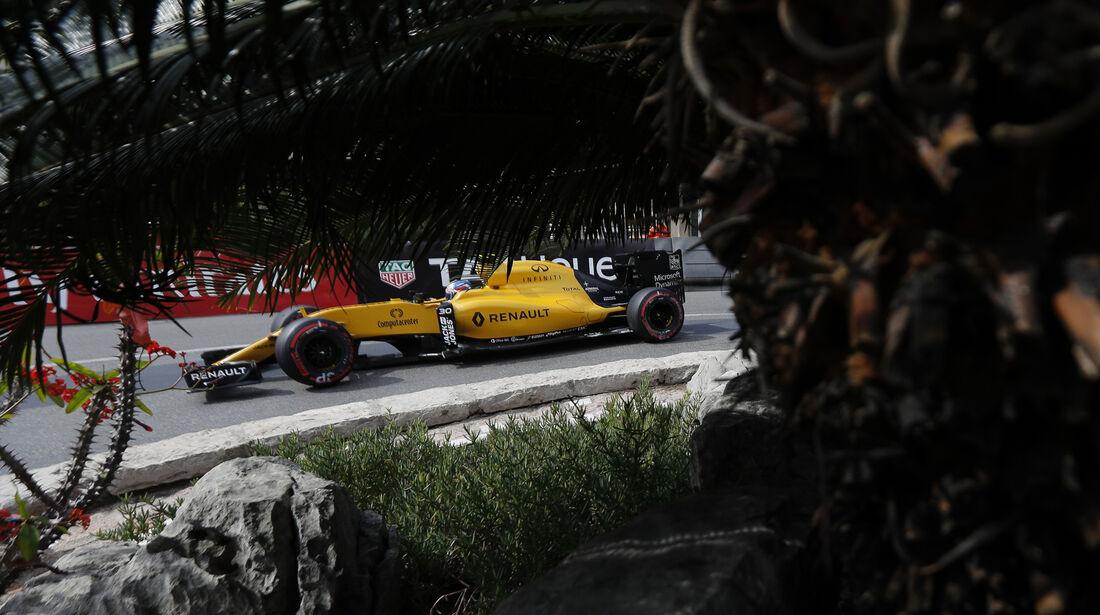 Jolyon Palmer - Renault - Formel 1 - GP Monaco - 26. Mai 2016