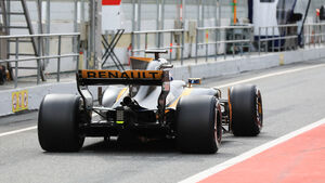 Jolyon Palmer - Renault - Formel 1-Test - Barcelona - 28. Februar 2017