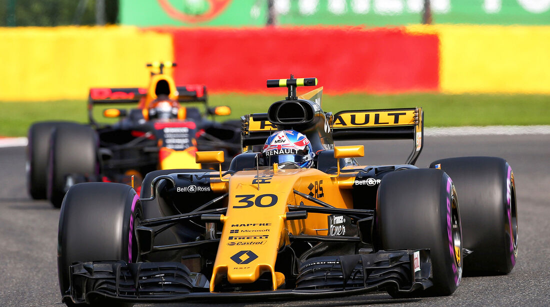 Jolyon Palmer - Renault - GP Belgien - Spa-Francorchamps - Formel 1 - 25. August 2017