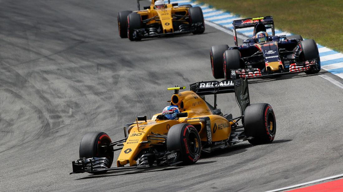 Jolyon Palmer - Renault - GP Deutschland 2016 - Hockenheim